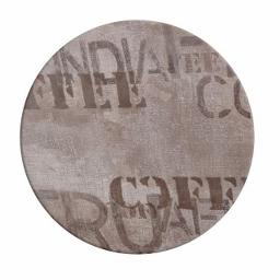 ΕΠΙΦΑΝΕΙΑ ΤΡΑΠΕΖΙΟΥ 710 WERZALIT Φ60  ΣΕ COFFEE BROWN ΧΡΩΜΑ HM5227.06