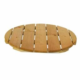 Πάτωμα ξύλινο στρογγυλό Ø60cm