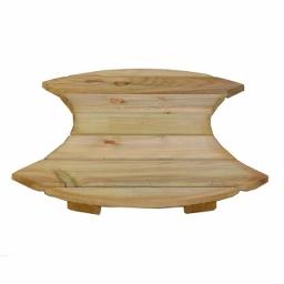 Πάτωμα ξύλινο διπλή Έκλειψη Ø60cm