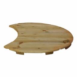 Πάτωμα ξύλινο Έκλειψη Ø60cm