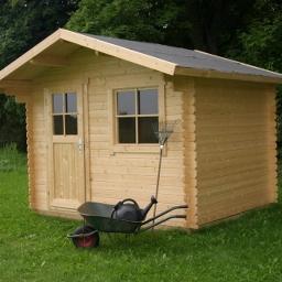 Ξύλινο Σπίτι Θάλεια 320 x 320cm
