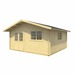 Ξύλινο Σπίτι Τερψιχορη 505 x 505cm