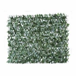 Φυλλωσιά ανοιγόμενη σε λυγαριά 100(Y) x 200εκ. (πράσινο σκούρο)