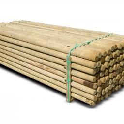 Ξύλινος πάσσαλος  Ø8 x 300cm