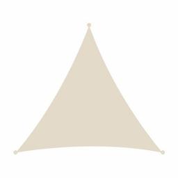 Τρίγωνο πανί σκίασης 230gsm - 3,6 x 3,6 x 3,6m