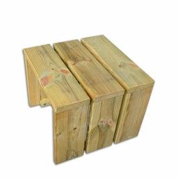 Βοηθητικό τραπέζι ξαπλώστρας 25(Υ) x 32 x 32εκ